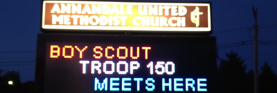 Boy Scout Troop 150 – Annandale, VA